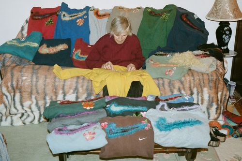 Bentgablenits Reworks Vintage Nike Sweaters With Lush Mohair