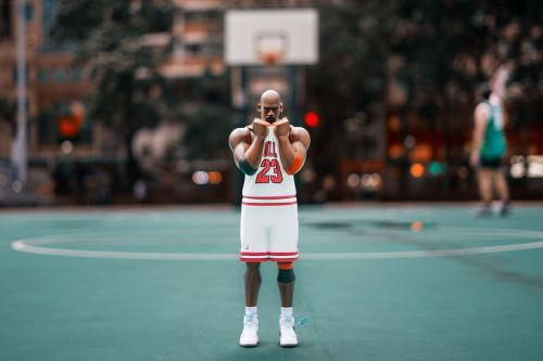 "Fool's Paradise Remixes Michael Jordan-Inspired ""XL THREE KING: TWO THREE"" Collectible"