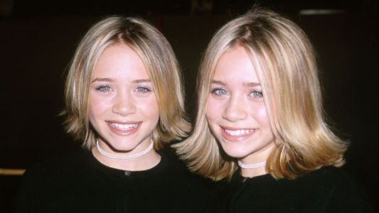 Great Outfits in Fashion History : Mary-Kate and Ashley Olsen's Flippy '90s Hair