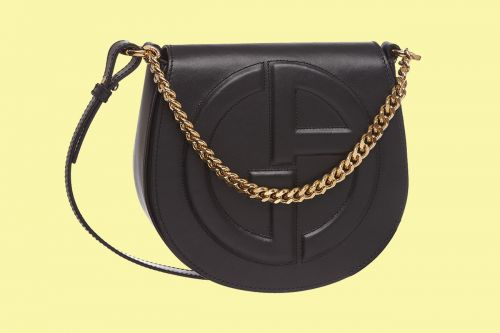 Ten Loves: Giorgio Armani Crossbody GA Logo Bag