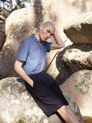 Jean Chang Ventures Outdoors in Reserved Re.Design Spring '19 Collection