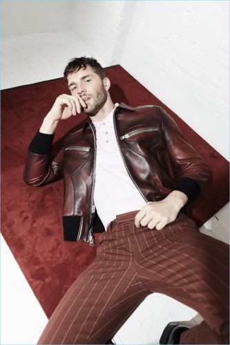 Tomas Skoloudik Poses for Iris Covet Book