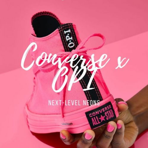 Converse x OPI Neons Collection 2019