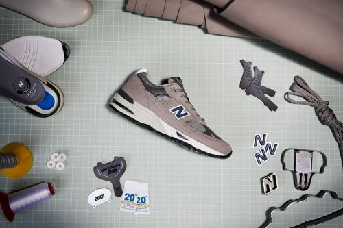 A Closer Look at New Balance's First 991 Made in U.K. Anniversary Release