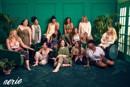 Aerie Has Become the Go-To Brand Partner for Celebrities With a Mission