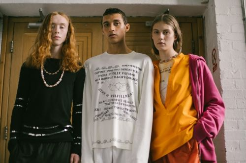 An exclusive BTS look at Wales Bonner's off-schedule collection