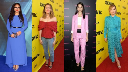Stars Played With Punchy Color on the Red Carpet This Week