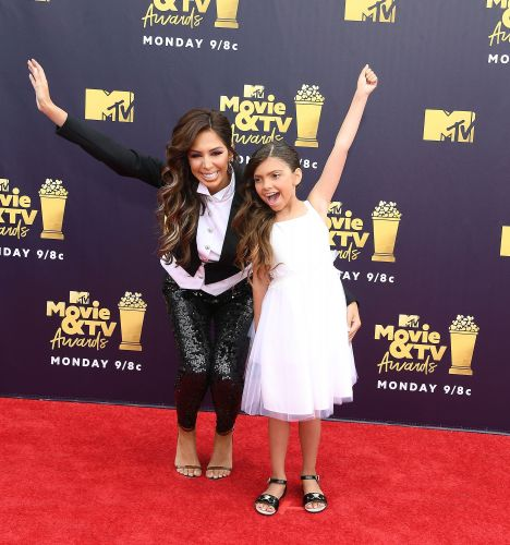 MTV TV and Movie Awards: Kim Kardashian, Farrah Abraham, and More Slay the Carpet With Slits and Sequins