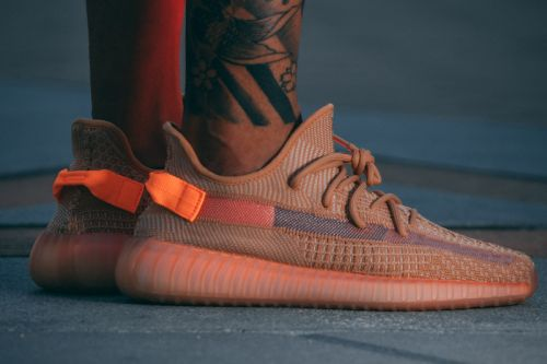 "On-Foot Views of the YEEZY BOOST 350 V2 ""Clay"""