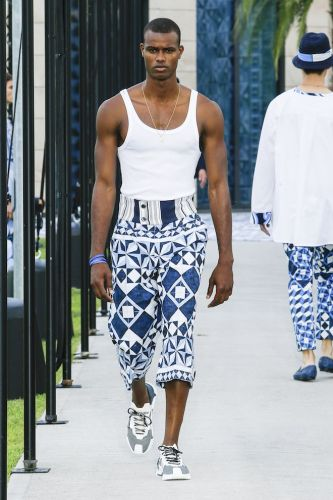 Dolce & Gabbana Spring 2021 menswear - Style at Home notice
