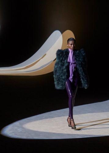 Saint Laurent wants you to slither into some latex next season