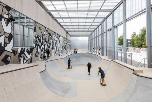 EFFEKT Turns a Former Windmill Factory Into a Skatepark