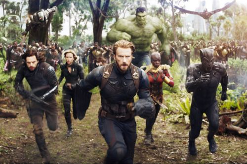Filmmakers could barely keep track of 'Infinity Wars' characters