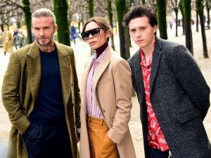 The Beckham Family Just Shut Down The Louis Vuitton Front Row