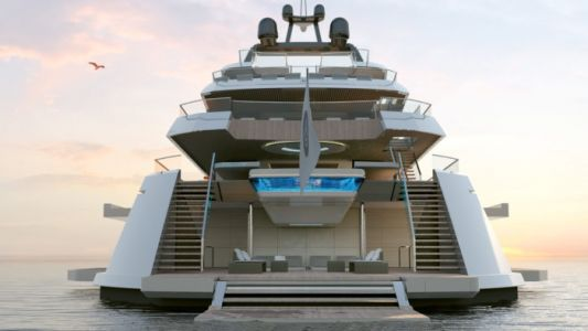 The Starlight Superyacht Project by Darnet Design is Now For Sale