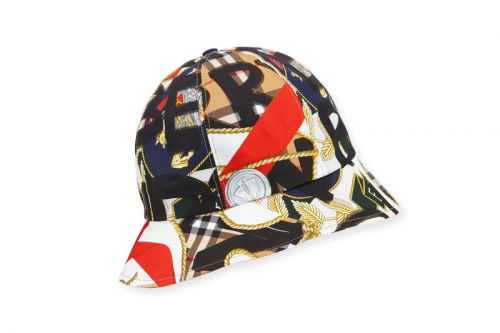 Burberry Repurposes More Vintage Scarves for This Printed Bucket Hat