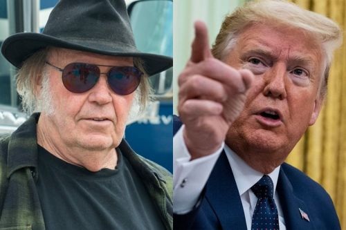 "Neil Young Sues Donald Trump Over Unauthorized Use of ""Rockin' In The Free World"""