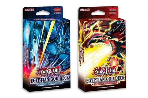 'Yu-Gi-Oh TCG' Set to Release Slifer the Sky Dragon and Obelisk the Tormentor Egyptian God Decks