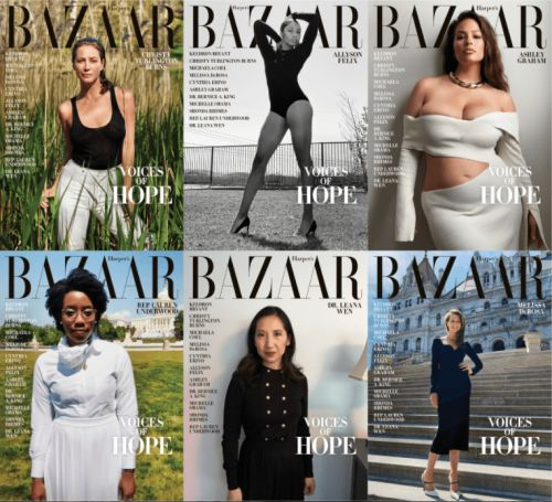 Must Read: 'Harper's Bazaar' Highlights 'Voices of Hope', Luxury Brands Aren't Giving up on Fashion Month