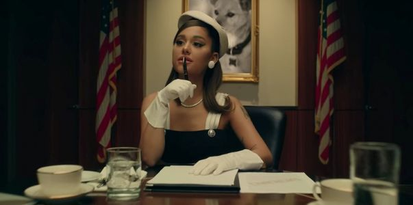 Ariana Grande is the president in her new video for 'positions'