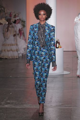 Xuly.Bet X Mimi Prober X Hogan McLaughlin Fall 2018: New York Fashion Week