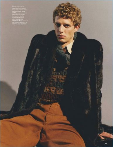 Colder Heavens: Benoni Loos for British GQ Style