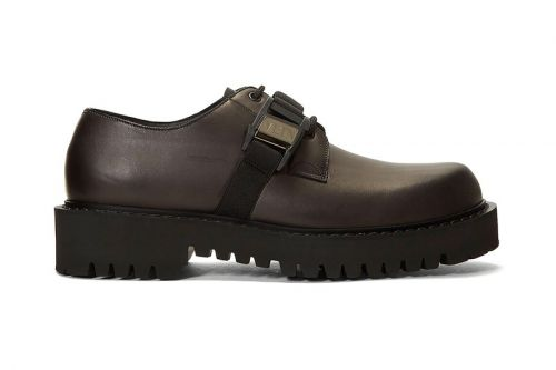Valentino Delivers Chunky-Soled Buckle Shoes for FW20