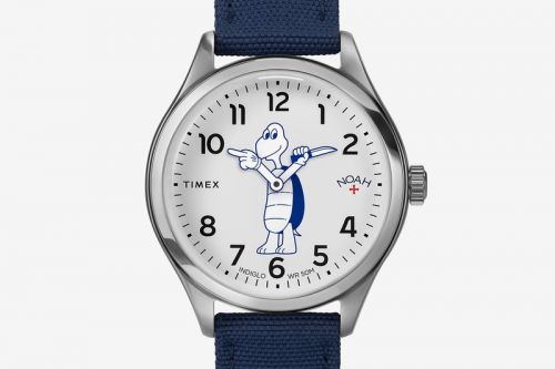 NOAH and Timex Call Attention to Marine Life Preservation With Waterbury Watch