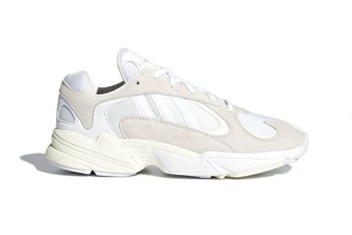 "Official Images of the adidas YUNG-1 ""Cloud White"" Surface"