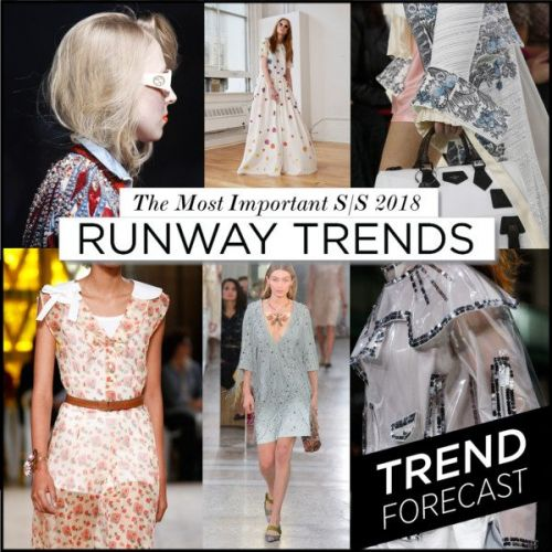 The Top 15 Runway Trends for S/S 2018