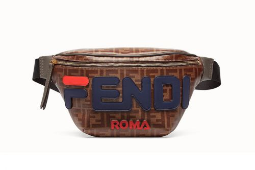 The FENDI x FILA Monogrammed Waist Bag Can Now be Pre-Ordered