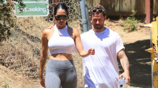 Nature Baes! Nikki Bella and Artem Chigvintsev Enjoy a Hike Ahead of Filming 'Total Bellas' Season 5