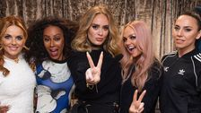 Adele Went Full-On Fangirl At A Spice Girls Concert And It Was Adorable