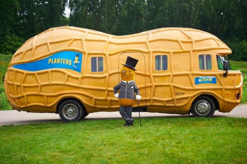 "Planters Is Looking for Driver For Its 26-Foot-Long ""NUTmobile"""