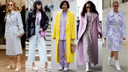 Pretty Pastels Were a Street Style Hit on Day 7 of New York Fashion Week