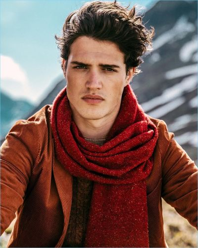 The Height of Autumn: Benjamin Reynier Embraces Mountain Style for Scotch & Soda