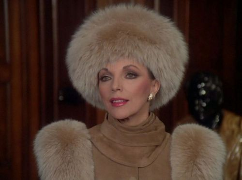 The Instagram Account Chronicling Joan Collins' Dynasty Looks