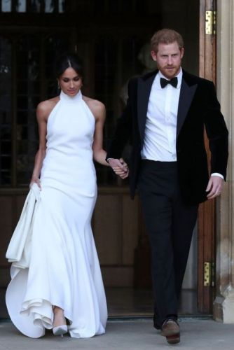 Meghan Markle Changed Into Stella McCartney For Her Second