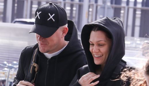 Lovers in London! Channing Tatum and GF Jessie J Pack on the PDA at Heathrow Airport