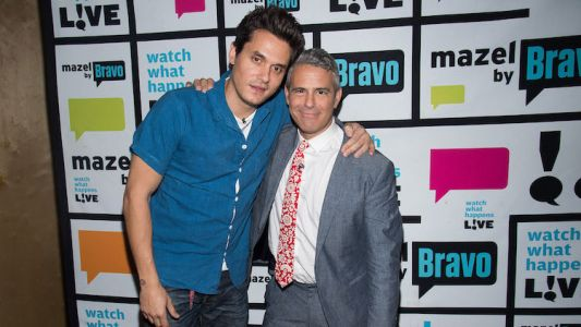 "Andy Cohen Addresses Those Pesky Rumors That He's Dating John Mayer: ""We Have a Sweet Friendship"""