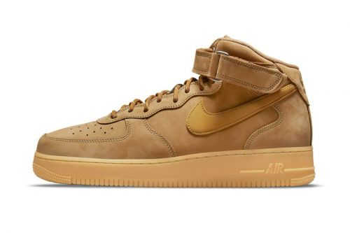 """The Nike Air Force 1 Mid """"Wheat"""" Is Re-Releasing This Fall"""