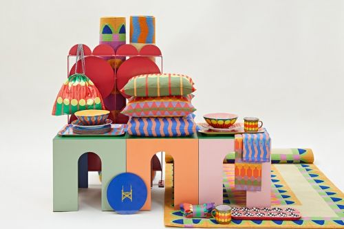 Yinka Ilori Celebrates His British-Nigerian Heritage With Debut Homeware Collection