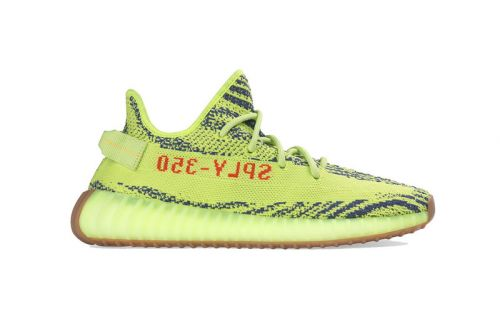 "Here's the Full Store List for the adidas YEEZY BOOST 350 V2 ""Semi Frozen Yellow"""