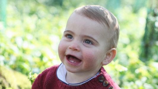 Prince Louis' Royal First Birthday Portraits Are the Cutest Thing You'll See All Week!