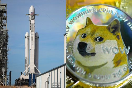 SpaceX Is Launching a Moon Satellite Funded by Dogecoin