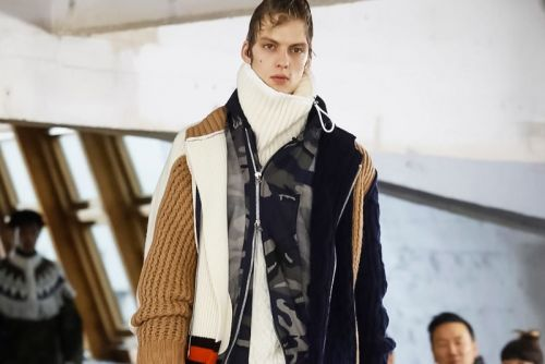 Sacai's Fall/Winter 2018 Collection is an Explosion of Mix-Matched Fabrics