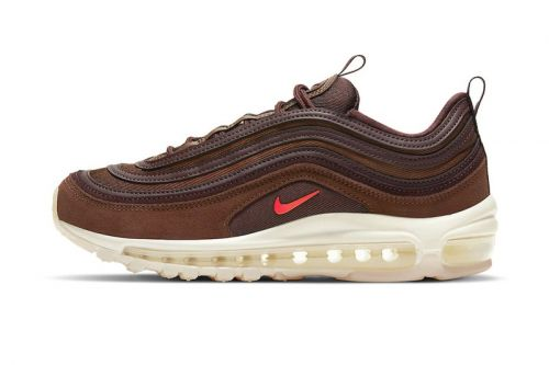 "Nike's Latest Air Max 97 Is Steeped In a Rich ""Coffee"" Colorway"