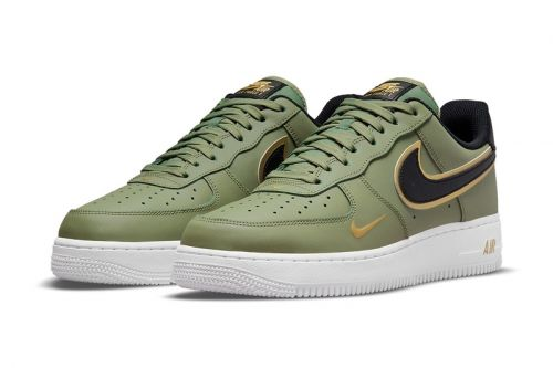 Nike Reveals a Trio of Air Force 1 Lows With Golden Trim