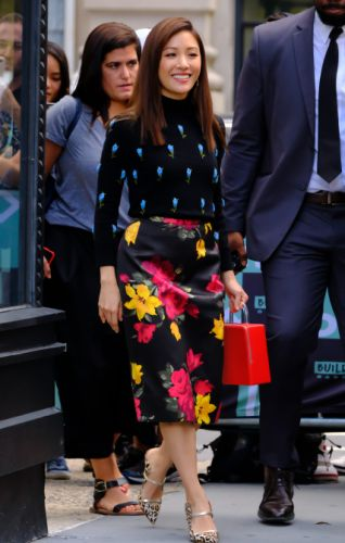 Constance Wu Proves Mismatched Florals Are, Indeed, Groundbreaking