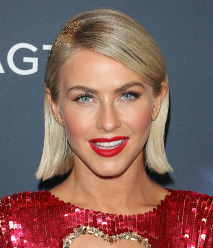Julianne Hough Just Brought Back the Glitter Roots Trend